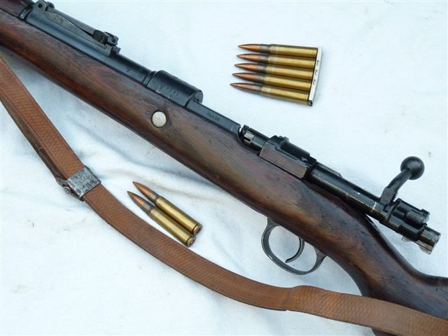 Deactivated Mauser K98 German infantry rifle 1942 dated SOLD